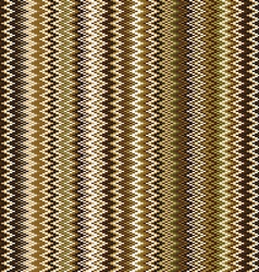 Seamless chevron pattern in brown and beige vector image