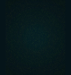 abstract background with binary code information vector image