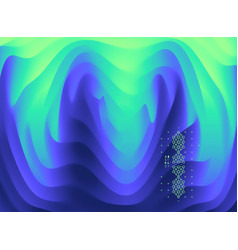 3d wavy background with ripple effect abstract vector