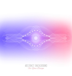 Abstract alien organism or cellpurple and pink vector