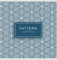 Abstract line flower style pattern background vector