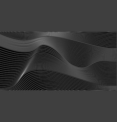 Abstract minimal background with wavy blend vector