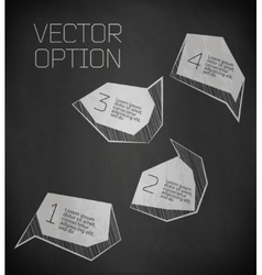 abstract modern Label vector image