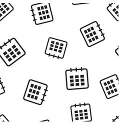 calendar agenda icon seamless pattern background vector image