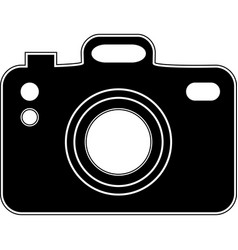 camera icon flat photo camera modern simple vector image
