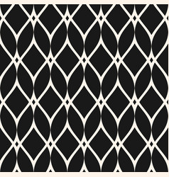 Mesh seamless pattern thin wavy lines texture vector