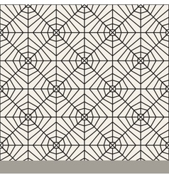 Seamless black and white lace pattern vector