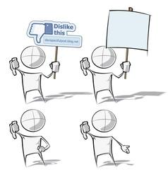 Simple People Dislike vector
