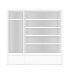 White gray pos poi outdoorindoor 3d empty vector
