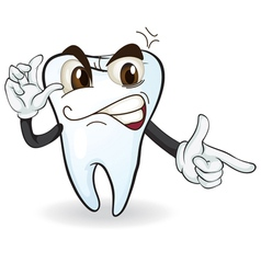 tooth vector image vector image