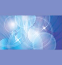 blue futuristic backdrop vector image