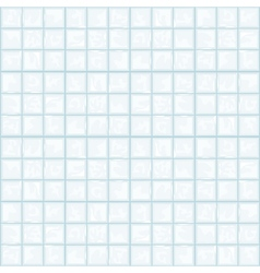 seamless texture of white tile vector image vector image