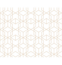 abstract geometric tile pattern seamless backdrop vector image