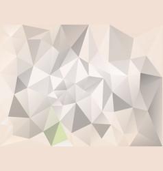 Abstract irregular polygon background gray beige vector