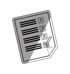 Democracy voting vote vector
