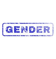 Gender rubber stamp vector