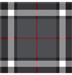 Gray fabric texture check seamless vector