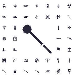Mace icon vector