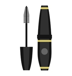 Mascara icon flat style vector