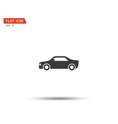 Sports car logo company vector