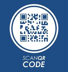 Scan QR Code design vector image