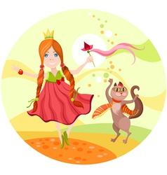 princess vector image