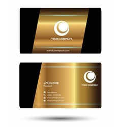 Abstract business cards vector