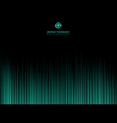 abstract technology green light lazer lines vector image