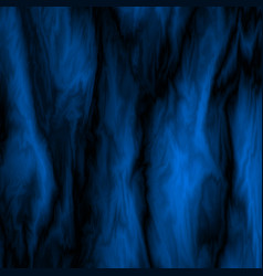 Blue abstract marble background vector