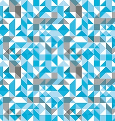 Bright seamless pattern with geometric figures vector