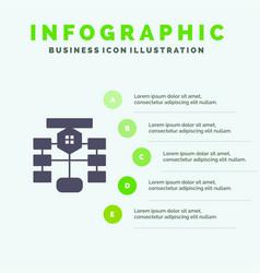 Flowchart flow chart data database infographics vector
