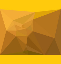 Gold polygonal background vector