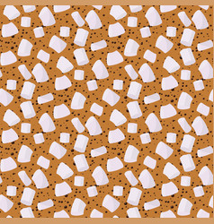 marshmallows seamless pattern sweet candy vector image