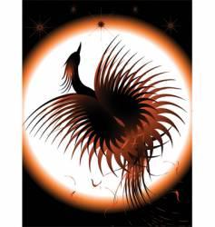 Phoenix rising vector