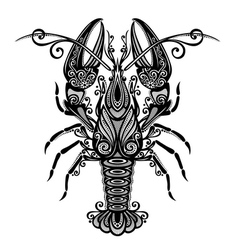 Sea Lobster vector image
