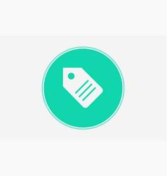 tag icon sign symbol vector image