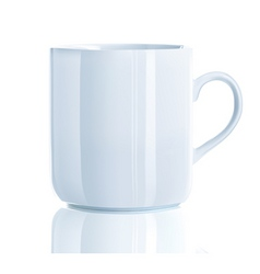 vector illustration of realistic cool tea cup over vector image vector image