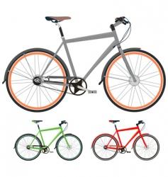bikes vector image vector image