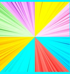 bright explosive concept vector image