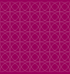 Colorful repeatable pattern with circles thin vector