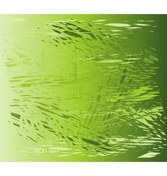 Green texture Grunge background vector