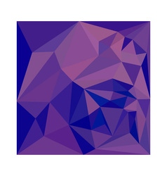 Han Purple Abstract Low Polygon Background vector
