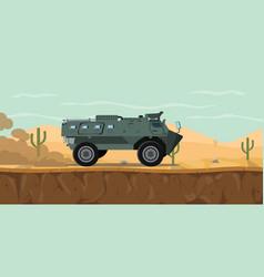 Indonesia tank transport personel vehicle anoa vector