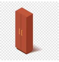 Office closet icon isometric 3d style vector