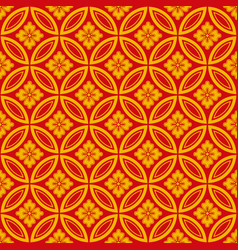 pattern 0140 japanese style vector image