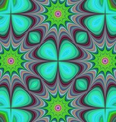 Star fractal design background vector