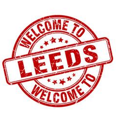 Welcome to leeds vector