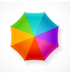 Umbrella Rainbow vector image vector image