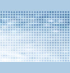 abstract halftone blue background with blurred vector image vector image