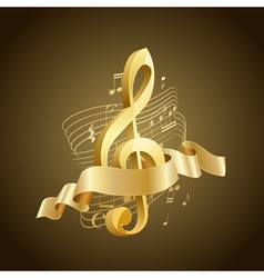 musical key vector image